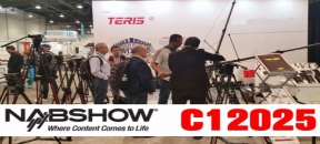 Teris will be exhibiting at NAB2019 with Booth C12025
